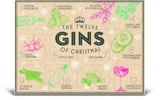 There's a 2018 GIN Advent calendar, and it will seriously jingle your bells