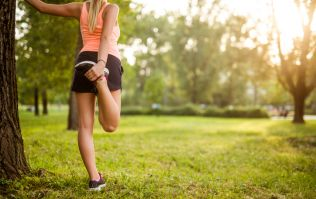 This mini marathon will give you a workout AND there's goodies at the end