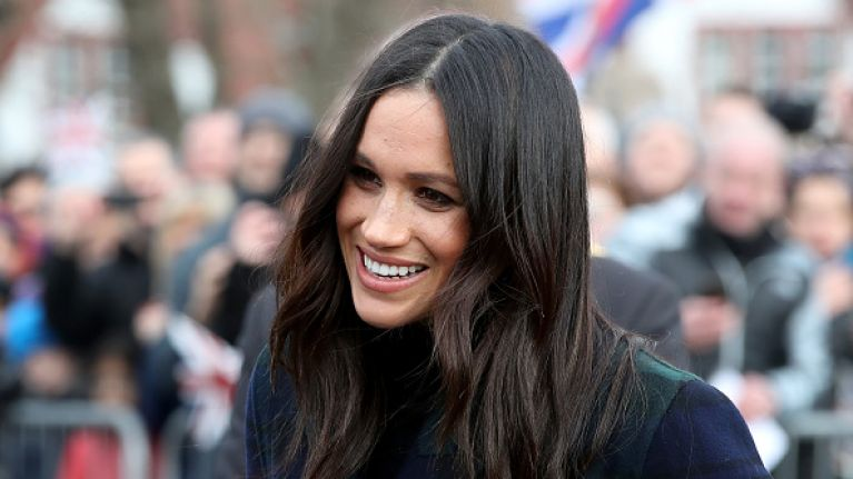 6d41e8c3234 Meghan Markle s styling trick for wearing separates is one we ve done for  nights out