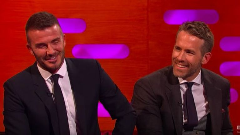 David Beckham and Ryan Reynolds are flirting on Instagram and it is everything