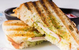 Hungover? This 8 minute garlic bacon toastie is what you absolutely NEED