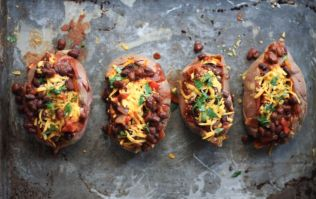 Feeling peckish? These stuffed sweet potatoes are exactly what you need