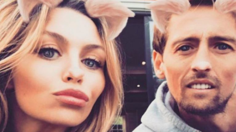 Abbey Clancy has given birth! And she goes traditional with the name