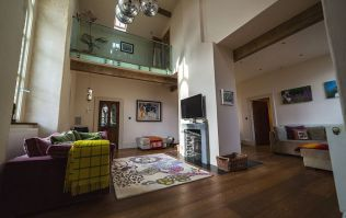 You can rent an entire converted church in Galway and it's CHIC