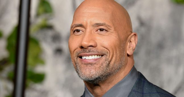 Dwayne Johnson has responded to those Davina McCall messages