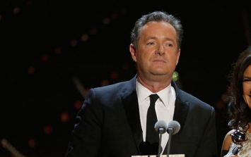 Piers Morgan was not all that happy with the dig he received in Corrie