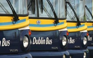 A Dublin Bus driver suffered a heart attack while on duty this morning