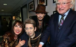 Bono and Johnny Depp looked like they had the craic at Shane McGowan's 60th