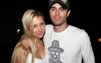 Enrique Iglesias shares photo with one of his newborn twins and it's adorable