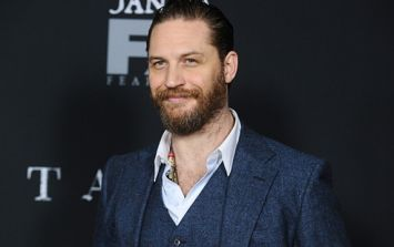 You'd never recognise Tom Hardy from the latest pictures he's shared of himself