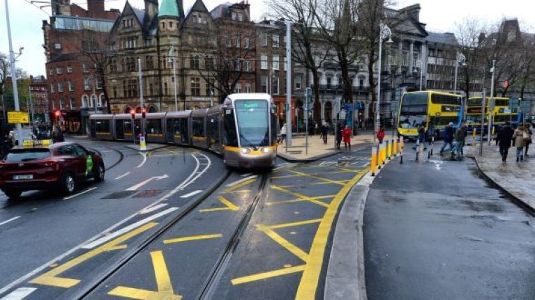 Bus and taxi BAN expected to come into effect on College Green soon