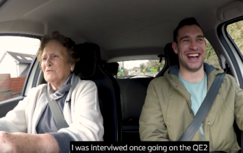 Cork granny tries electric car for the first time and it's just dotey