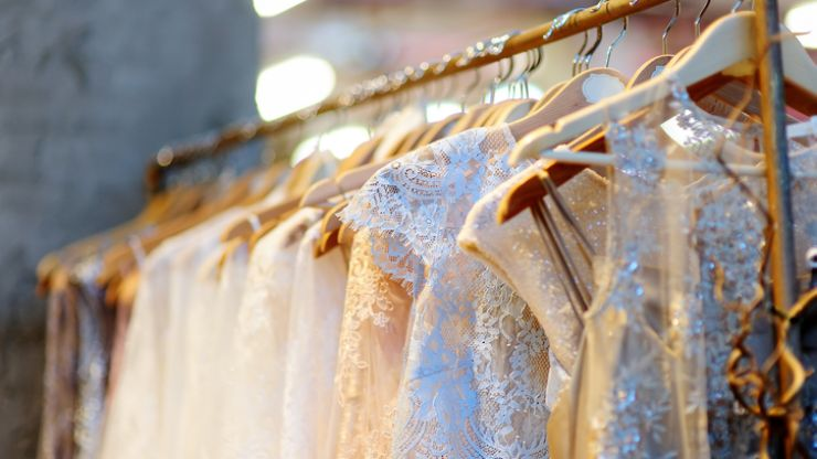 Bride 'disturbed' over what she found her future mum-in-law doing with her wedding dress