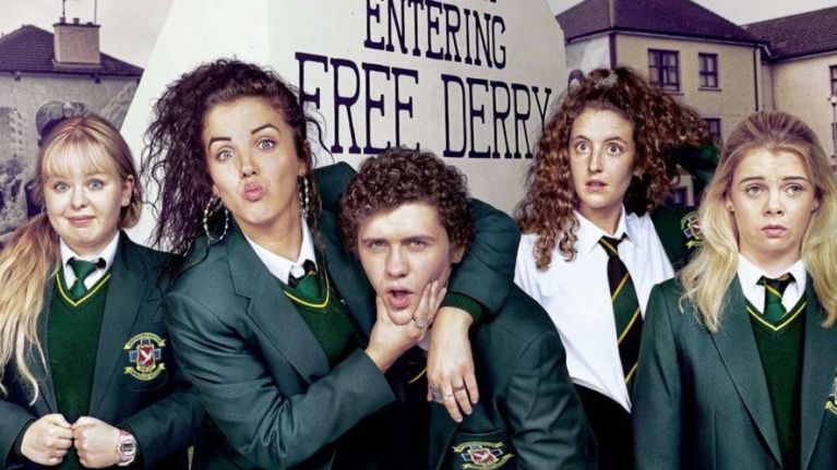 Derry Girls went down a storm on Twitter again last night