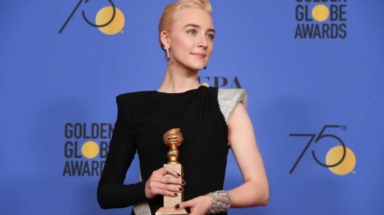 Saoirse Ronan's mam didn't go to the Golden Globes for a bonkers reason