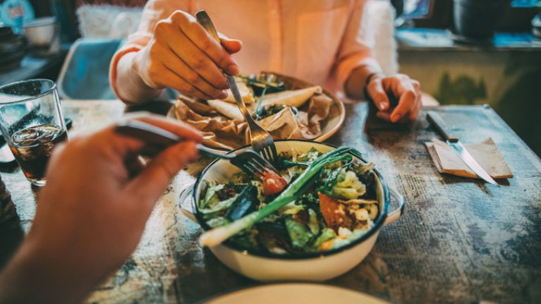 Always stealing food off your partner's plate? Turns out it's good news