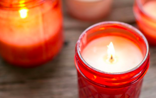 This luxury candle sells out every year for Valentine's Day