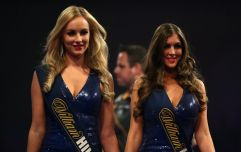 Following a review - 'walk-on girls' will no longer be used at darts events