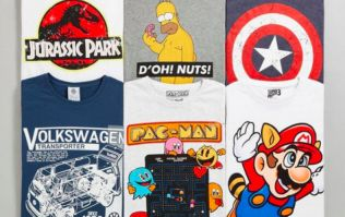 The men's section in Penneys has these €7 retro tees... and we'll be wearing all of them