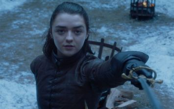 Maisie Williams just let some huge Game of Thrones news slip
