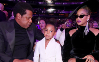 Blue Ivy actually silenced her parents at the Grammys last night