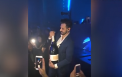 Man tries to show off with €35k bottle of champagne... smashes it all over da club