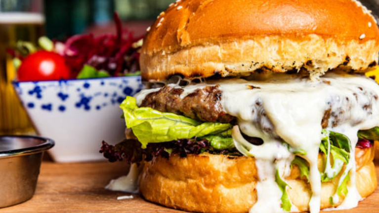 Experts says it's better to eat TWO burgers, rather than a burger and side