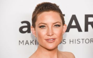 Kate Hudson debuts a 'textured pixie'... the hot new hair trend of 2018