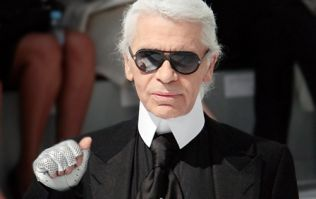 Karl Lagerfeld grew a beard and it's quite... startling