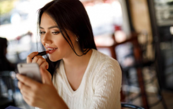 There's actually a SUPER easy way to find your perfect nude lipstick