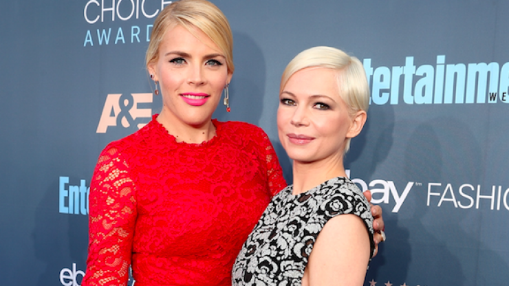 Busy Philipps reunites with Michelle Williams on Heath Ledger anniversary