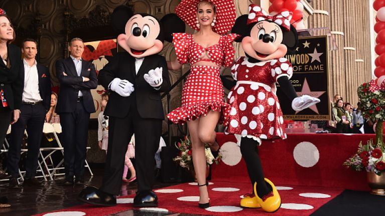 Minnie Mouse Honoured With Star On Walk Of Fame Forty Years After