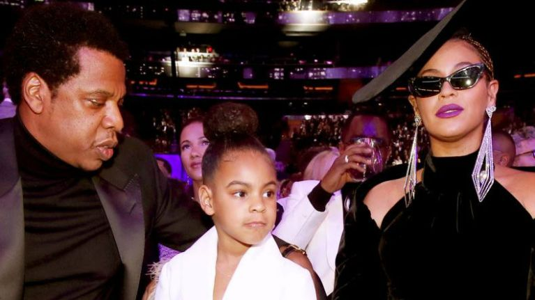 Blue Ivy is the spitting image of Beyoncé in this side-by-side throwback picture