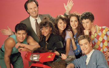 You can now get a Saved By The Bell lipgloss set