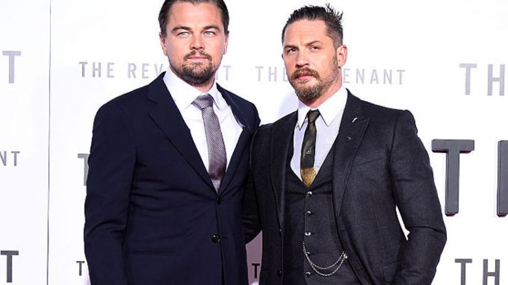 Tom Hardy finally got his Leo DiCaprio tattoo after losing a bet