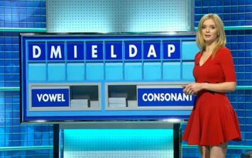 Rachel Riley revealed some absolute filth on the Countdown letters board today