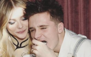 Brooklyn Beckham was the image of Johnny Depp at Chloe's 21st party