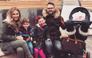 Anna and Jonathan Saccone-Joly expecting fourth child together