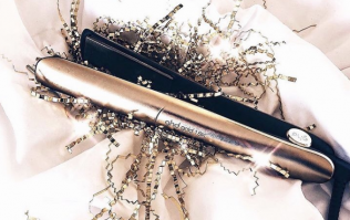 GHD has launched its most expensive hair straightener - complete with 18k gold
