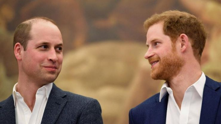 So, William and Harry have a step sister... and who knew?