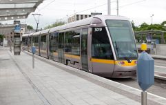 Man dead after being hit by Luas in Dublin