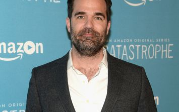 Actor and comedian Rob Delaney's two-year-old son has passed away