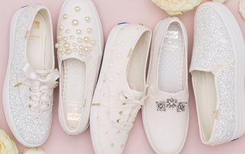 Keds x Kate Spade wedding collection are the bridal shoes of dreams