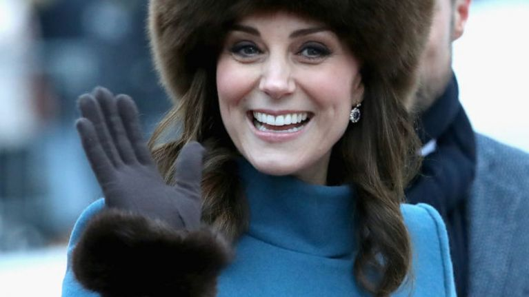 Why does Kate Middleton never take her coat off in public?