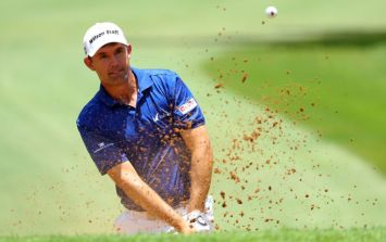 Pádraig Harrington's Twitter has been hacked and is very NSFW