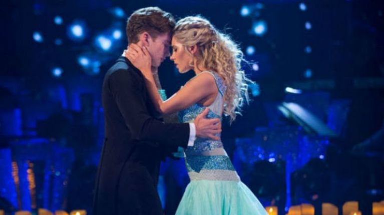 Turns out Mollie and AJ were 'caught together' on Strictly