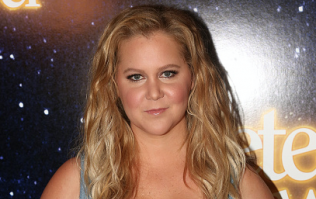 We have photos! Amy Schumer looked like a goddess on her wedding day