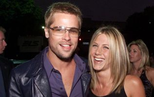 Brad Pitt went to Jen Aniston's 50th because he wants everyone to know they're mates