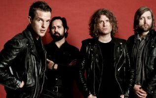 The Killers are playing a huge concert and their support band is UNREAL