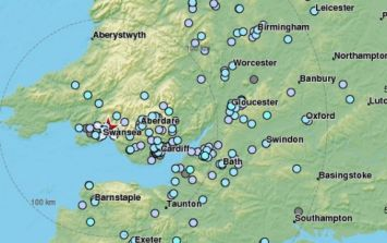 BREAKING: An earthquake has hit areas of the UK and Wales